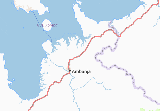 Carte-Plan Antsakoamanondro
