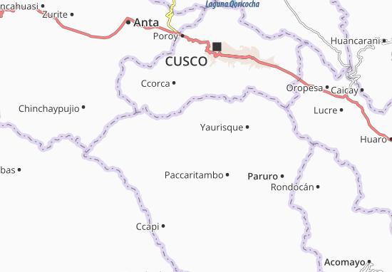 Mappe-Piantine Huanoquite