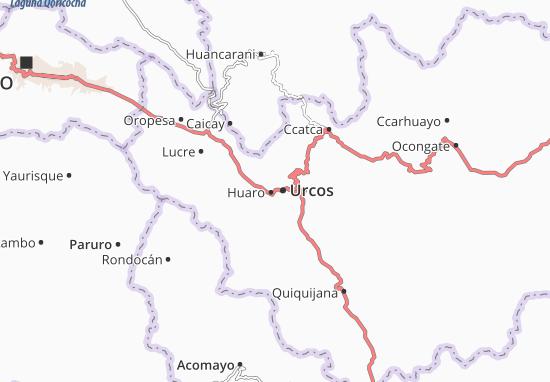 Huaro Map