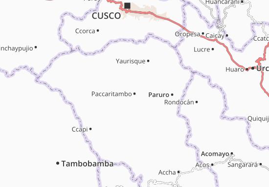 Mappe-Piantine Paccaritambo