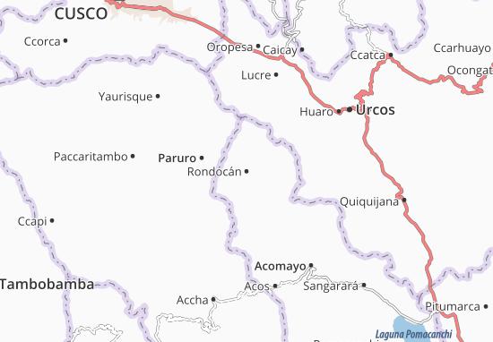 Mappe-Piantine Rondocán