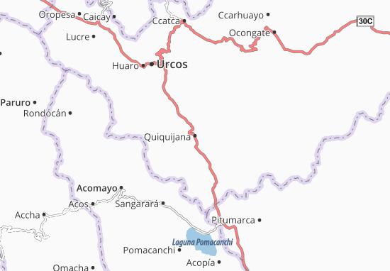Mappe-Piantine Quiquijana