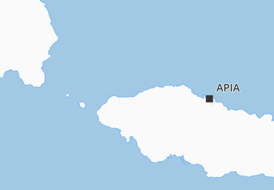 Mapa Plano Leulumoega