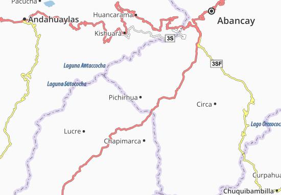 Carte-Plan Pichirhua