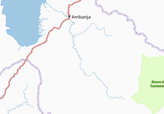 Carte-Plan Antsamala