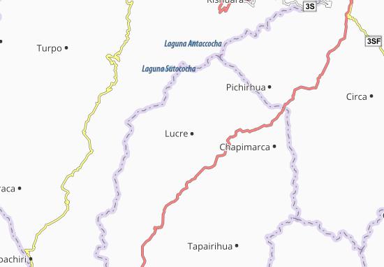 Kaart Plattegrond Lucre