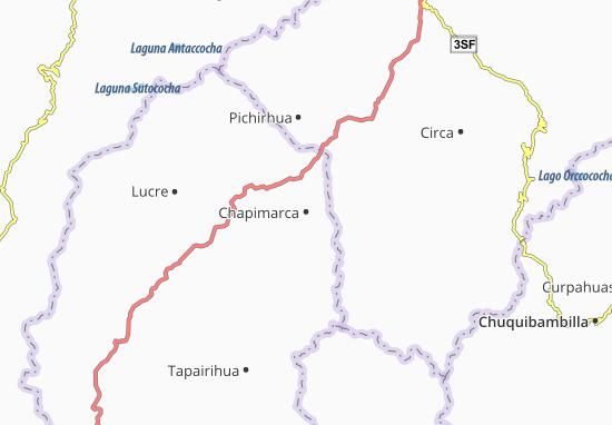 Kaart Plattegrond Chapimarca