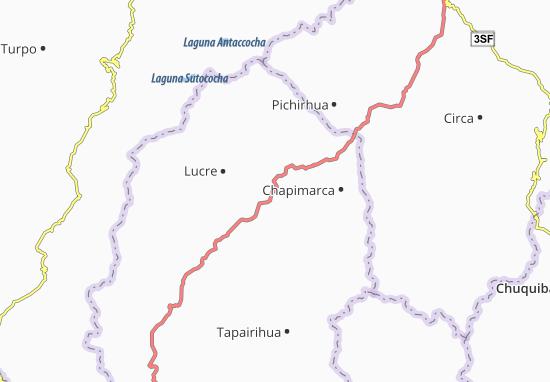Kaart Plattegrond Tintay