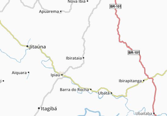 Ibirataia Map