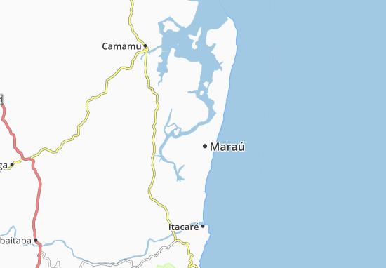 Mapas-Planos Maraú