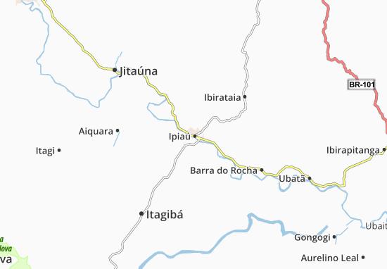 Mappe-Piantine Ipiaú