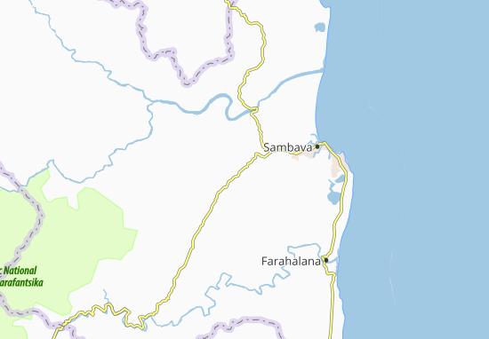 Carte-Plan Ambohimalaza