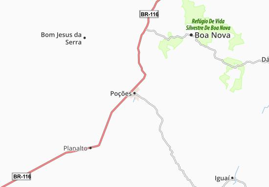 Poções Map