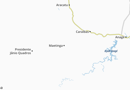 Carte-Plan Maetinga