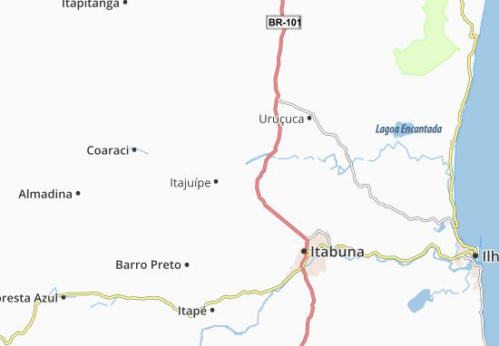 Mappe-Piantine Itajuípe