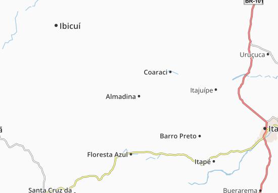 Carte-Plan Almadina