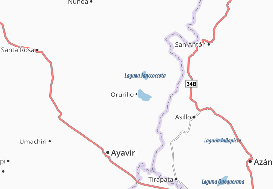 Orurillo Map