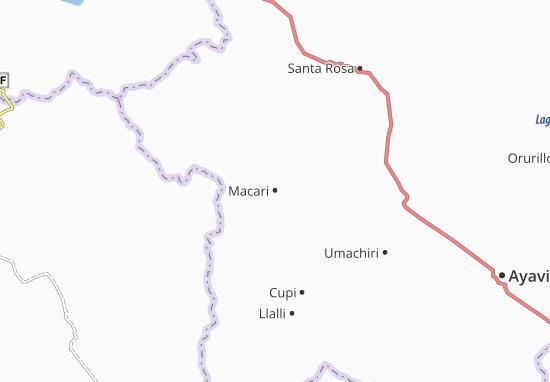 Mappe-Piantine Macari