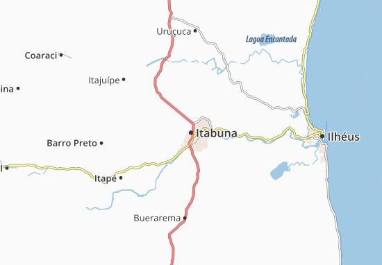 Itabuna Map