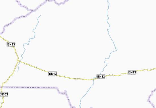 Mapa Plano Mecarrua