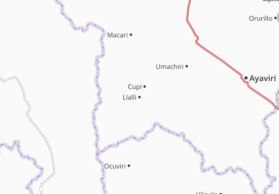 Mappe-Piantine Llalli