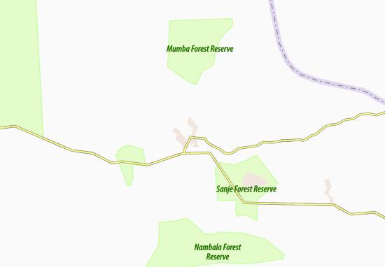 Kaart Plattegrond Mumbwa