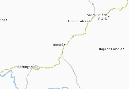 Mapas-Planos Itororó