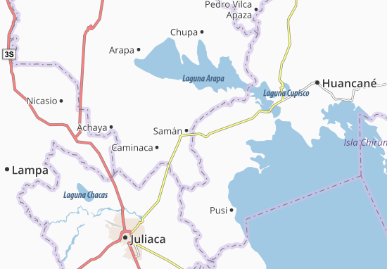 Samán Map