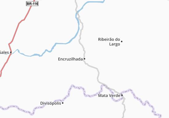 Encruzilhada Map