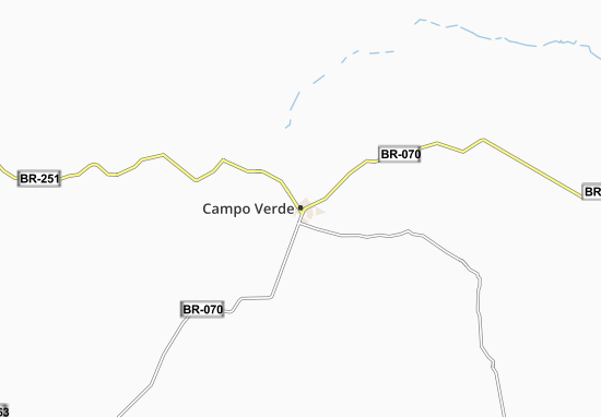 Campo Verde Map