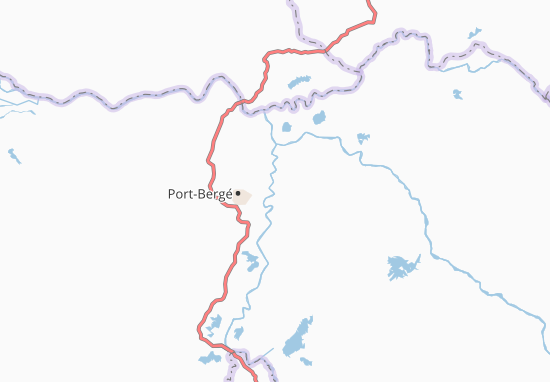 Carte-Plan Port-Berhe