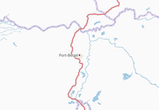 Carte-Plan Port-Bergé