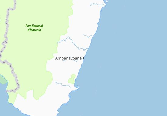 Carte-Plan Ampanavoana