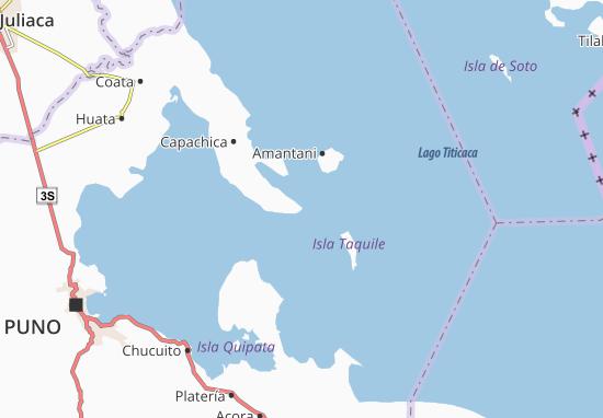 Llachón Map
