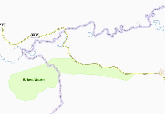 Mapa Plano Bambwe