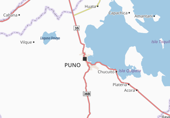 Puno Map