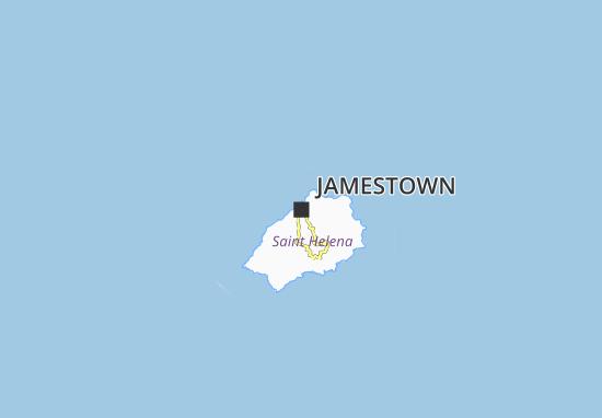 Kaart Plattegrond Jamestown