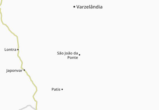 Mapas-Planos São João da Ponte
