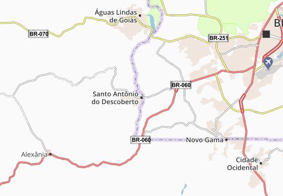 Santo Antônio do Descoberto Map