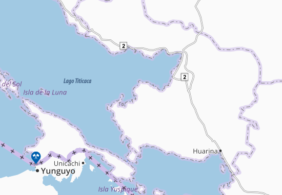 Santiago De Huata Map