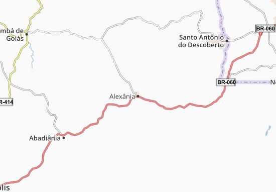 Carte-Plan Alexânia
