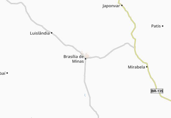 Mappe-Piantine Brasília de Minas