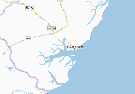 Carte-Plan Angoche