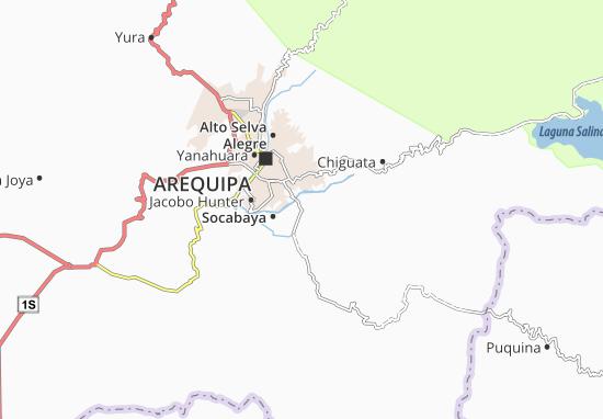 Sabandía Map