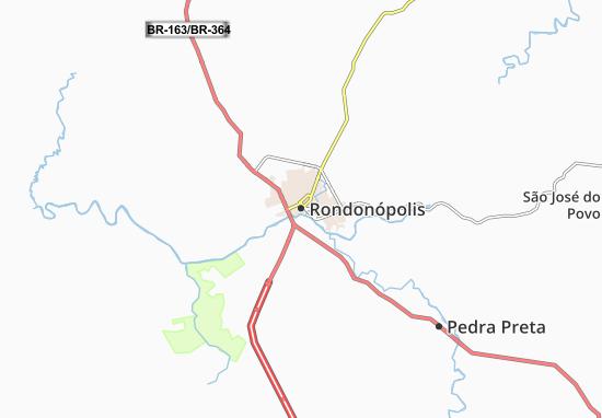 Mappe-Piantine Rondonópolis