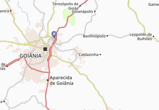 Senador Canedo Map
