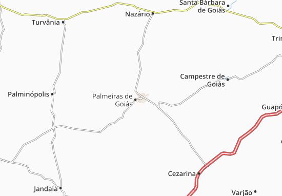 Mapas-Planos Palmeiras de Goiás