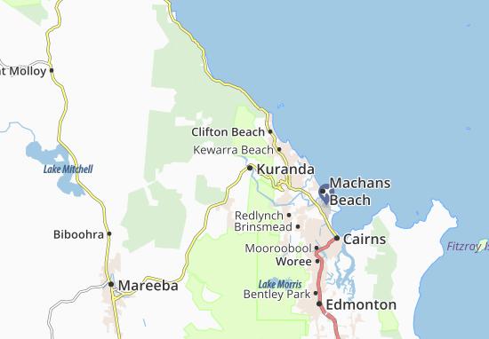 Kuranda Map