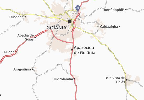 Carte-Plan Aparecida de Goiânia