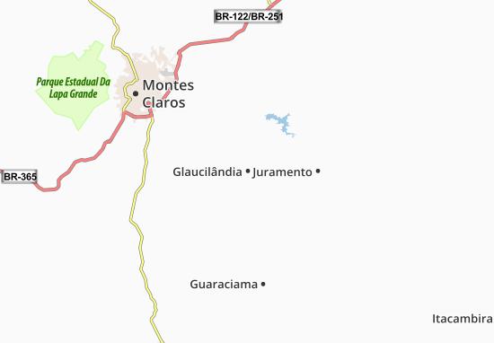 Mapas-Planos Glaucilândia